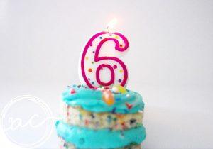 compleanno sei anni