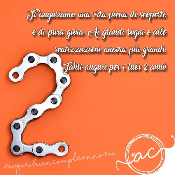 Frasi Amore 2 Anni.Buon Compleanno 2 Anni Bigliettini D Augurio Speciali